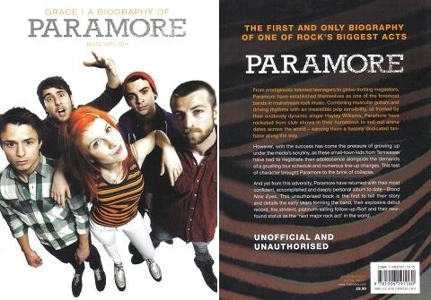 paramore Biography Book