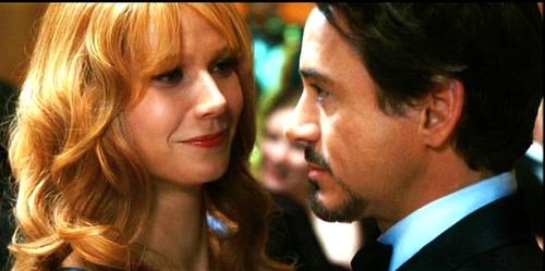 Pepper and Tony