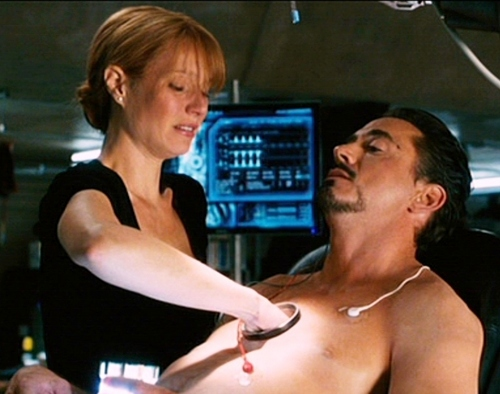 Tony Stark and Pepper Potts wallpaper titled Pepper and Tony