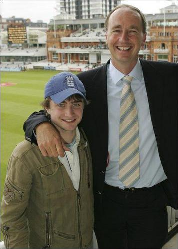 фото of Dan at Lord's on his 18th Birthday