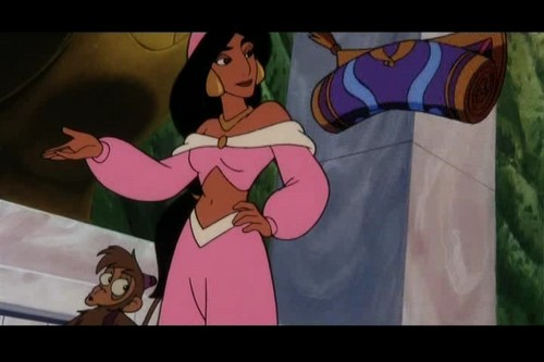 princesa jasmín fondo de pantalla possibly with anime titled Princess jazmín from aladdín and the King of thieves movie