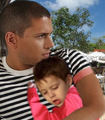 Prison Break - Michael with his little son MJ - wentworth-miller photo