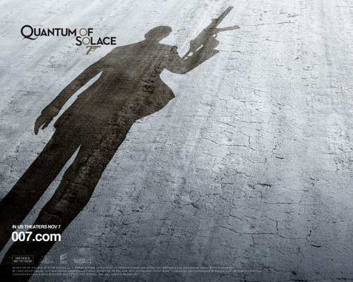 James Bond 바탕화면 titled Quantum of Solace