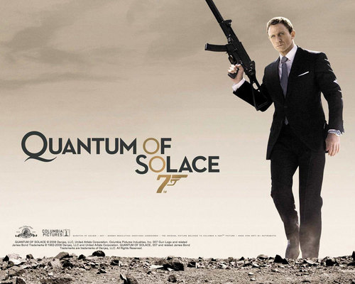 Quantum of Solace - james-bond Wallpaper