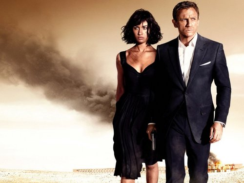 James Bond wallpaper with a business suit, a well dressed person, and a suit called Quantum of Solace