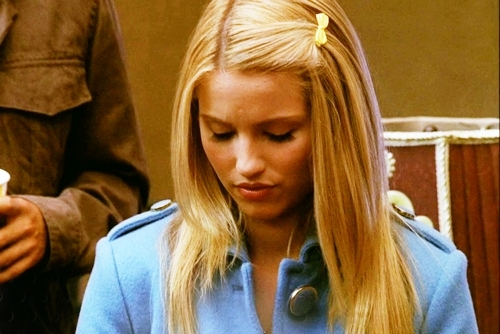 Quinn Fabray wallpaper possibly with an outerwear and a portrait titled Quinnie