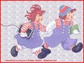 Raggedy Ann and Andy,Wallpaper