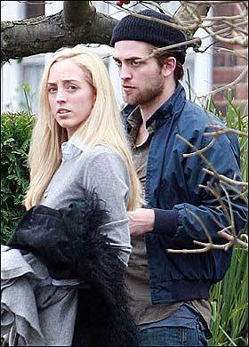 Rob Spotted With His Sister