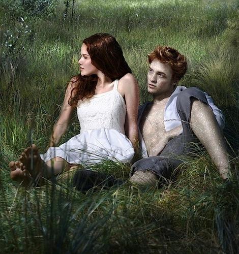 Сумерки (серия романов) Обои entitled Romantic scene