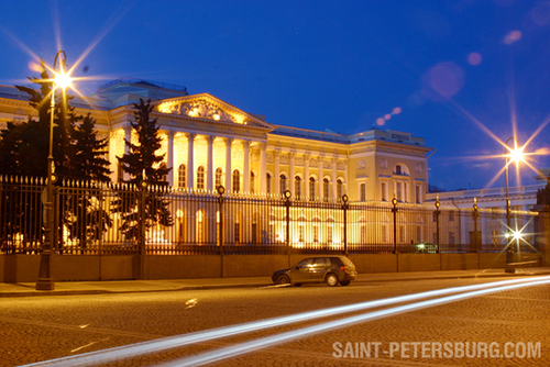 Russian Museum at Night
