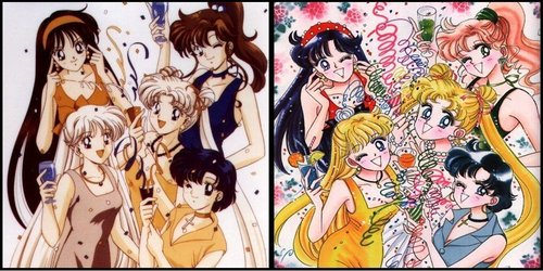 Sailor Moon karatasi la kupamba ukuta with anime entitled Sailor Moon anime and manga :)