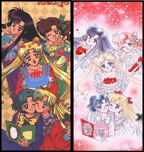 Sailor Moon anime and manga :)