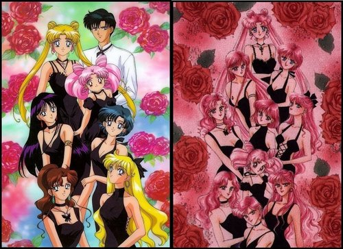 Sailor Moon জীবন্ত and জাপানি কমিকস মাঙ্গা :)