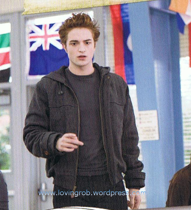 Scans from the Twilight Director's Notebook