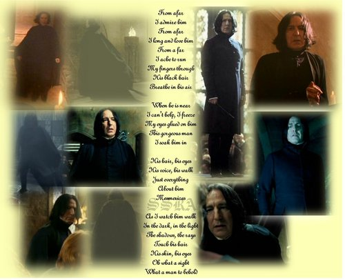 Severus Snape Hintergrund called Severus-From A far