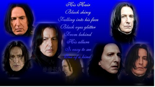 Severus-His Hair