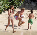 Sienna & Jude in Barbados - sienna-miller photo