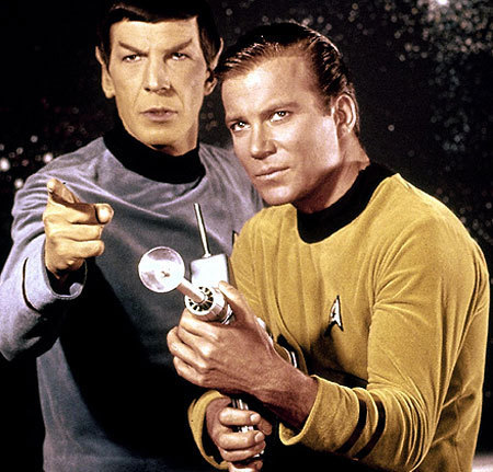 Spock And The Captain