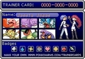 Team Rocket's Trainer card - pokemon photo