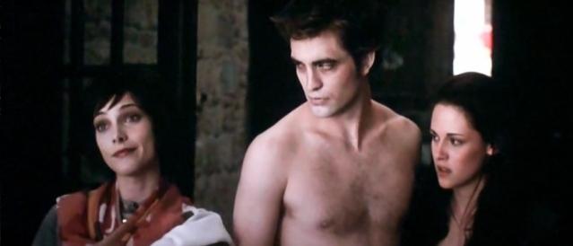 The Many Faces Of Shirtless Edward!
