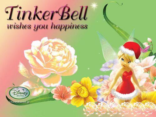 TinkerBell achtergrond