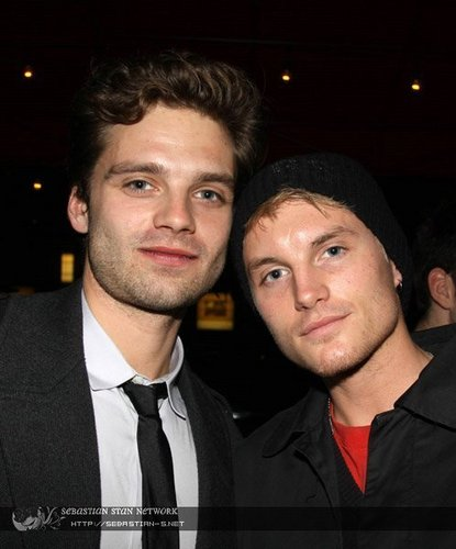 Toby Hemingway wallpaper probably containing a business suit titled Toby Hemingway & Sebastian Stan