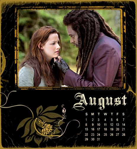 Twilight/NewMoon Calendar 2010-August