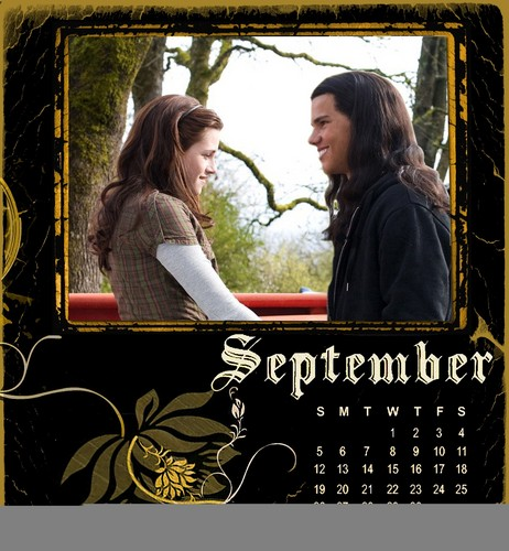Twilight/NewMoon Calendar 2010-September