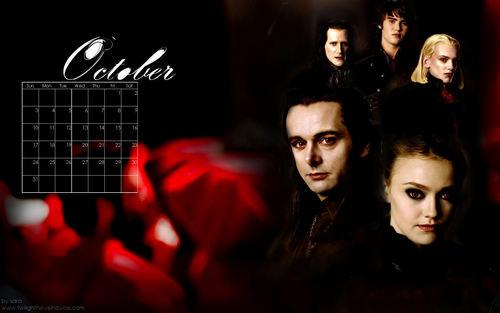 Twilight Saga 2010 Desktop দেওয়ালপত্র Calendar(from novel noviee twilight)