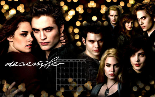 Twilight Saga 2010 Desktop wolpeyper Calendar(from novel noviee twilight)