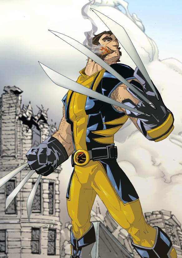 Wolverine - Wolverine Fan Art (9643901) - Fanpop Xmen