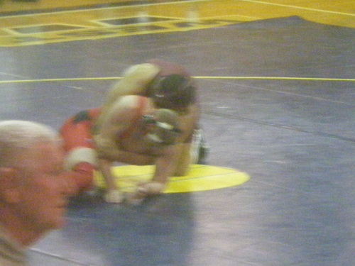 Wrestling matches :))