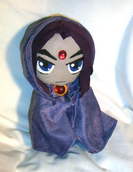 a real live Raven plushie!