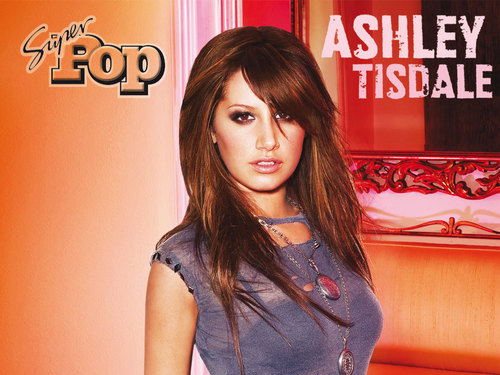 Ashley Tisdale Hintergrund containing a portrait called asheley