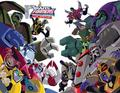 autobots vs decepticons - transformers-animated-series photo