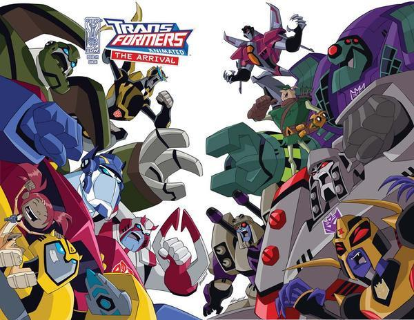 Transformers Animated Series Gambar Autobots Vs Decepticons