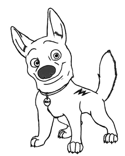 how to draw an anthro dog