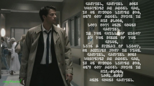 castiel is the sex