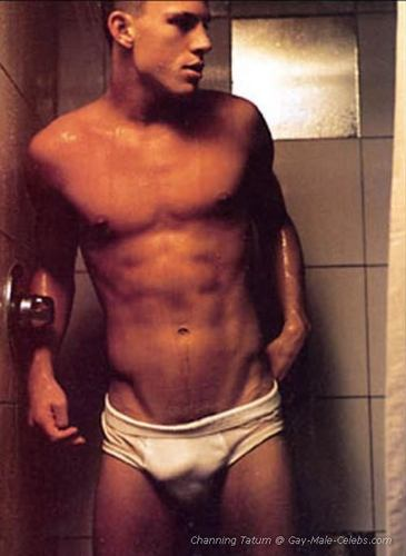 channing tatum showering