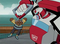 human issues - transformers-animated-series photo