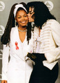 mike and dunk - michael-and-janet-jackson photo