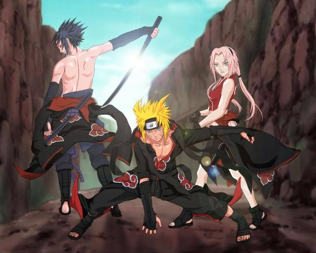 Naruto Team Is Back