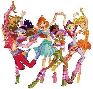 winx dancing