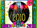 *Karen Happy New Year 2010*