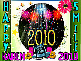 *Karen Happy New 年 2010*