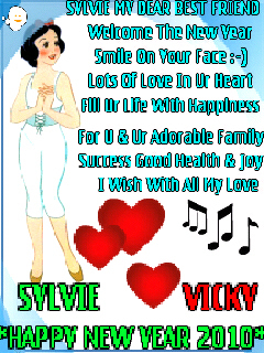 keep smiling images sylvie my dear best friend happy new year 2010 vicky wallpaper and background photos