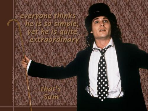 Benny and Joon wallpaper containing a business suit titled ...that's Sam