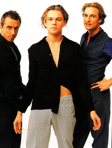 1996 hotties photoshoot (Tim at the left)