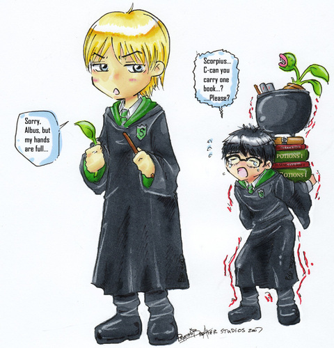 Albus and Scorpius - rose-and-scorpius Fan Art