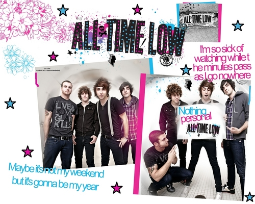 All Time Low achtergrond (Edited)